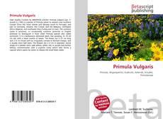 Bookcover of Primula Vulgaris