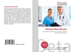 Bookcover of Primum Non Nocere