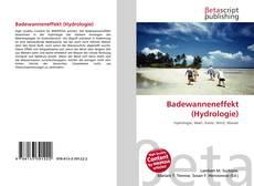 Обложка Badewanneneffekt (Hydrologie)