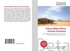Bookcover of Prince Abbas Mirza Farman Farmaian