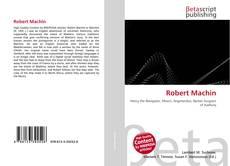 Bookcover of Robert Machin