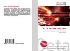 Обложка HTTP Header Injection