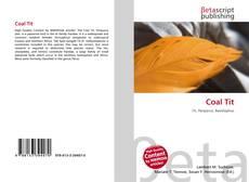 Coal Tit kitap kapağı