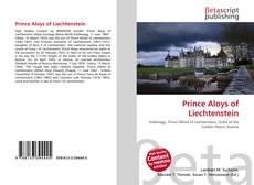 Copertina di Prince Aloys of Liechtenstein