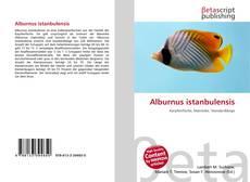 Bookcover of Alburnus istanbulensis