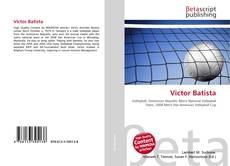 Bookcover of Victor Batista