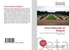 Bookcover of Prince Alexander of Belgium