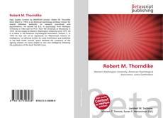 Обложка Robert M. Thorndike