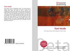 Capa do livro de Toni Verde