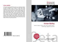 Victor Bailey kitap kapağı