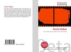 Bookcover of Parvin Dabas