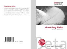 Portada del libro de Great Grey Shrike