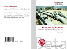Bookcover of Greece–Italy Pipeline