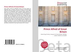 Обложка Prince Alfred of Great Britain