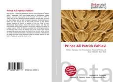 Bookcover of Prince Ali Patrick Pahlavi