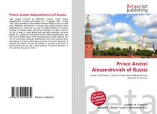 Bookcover of Prince Andrei Alexandrovich of Russia