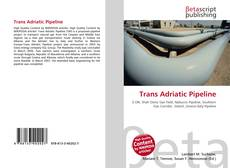 Bookcover of Trans Adriatic Pipeline