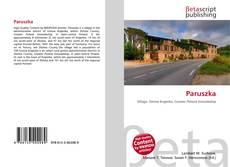 Bookcover of Paruszka
