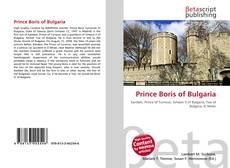 Buchcover von Prince Boris of Bulgaria