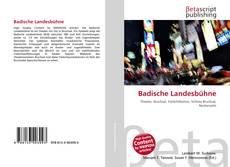 Обложка Badische Landesbühne