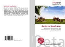 Bookcover of Badische Revolution