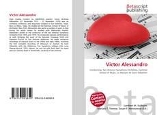 Capa do livro de Victor Alessandro