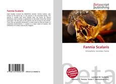 Portada del libro de Fannia Scalaris