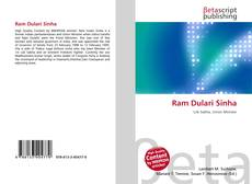 Bookcover of Ram Dulari Sinha