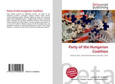 Copertina di Party of the Hungarian Coalition