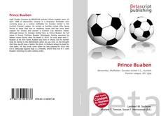 Portada del libro de Prince Buaben
