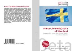 Обложка Prince Carl Philip, Duke of Värmland