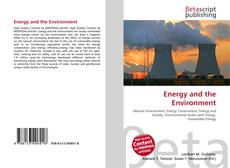 Bookcover of Energy and the Environment