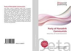 Portada del libro de Party of Narodnik Communists