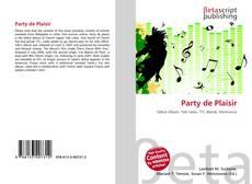 Bookcover of Party de Plaisir