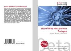 List of Web Host Service Outages的封面