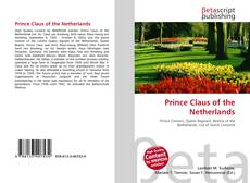 Buchcover von Prince Claus of the Netherlands