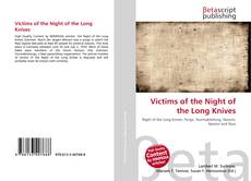 Bookcover of Victims of the Night of the Long Knives