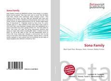 Bookcover of Sona Family