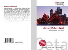 Обложка Alceste (Schweitzer)