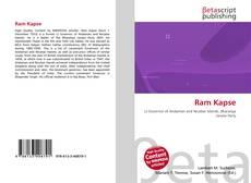 Capa do livro de Ram Kapse