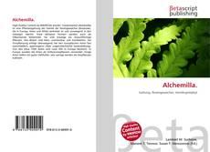 Buchcover von Alchemilla.