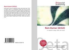 Couverture de Ram Kumar (Artist)
