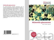Обложка Alchemilla glaucescens