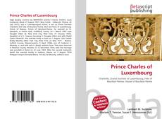 Bookcover of Prince Charles of Luxembourg