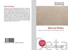 Bookcover of Ram Lal Thakur