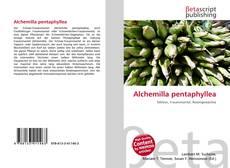 Buchcover von Alchemilla pentaphyllea