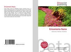 Ericameria Nana kitap kapağı