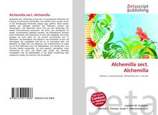 Buchcover von Alchemilla sect. Alchemilla