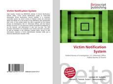 Victim Notification System kitap kapağı