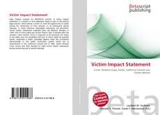 Borítókép a  Victim Impact Statement - hoz